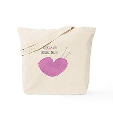 My Knit Tote Bag