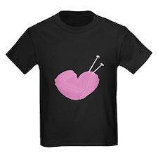 Knitting Heart T-Shirt