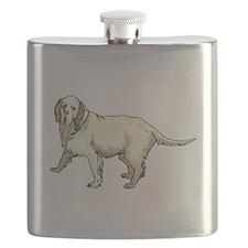Grand Basset Griffon Vendeen Flask