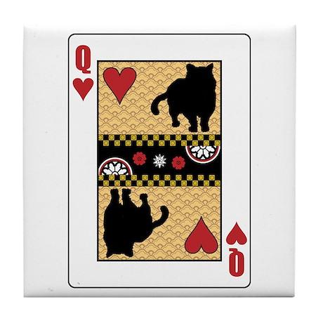 Queen Shorthair Tile Coaster