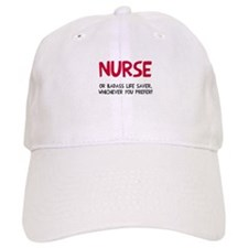 Nurse badass life saver Baseball Cap