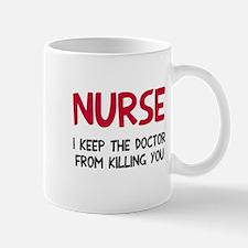 Nurse keep doctor Mug