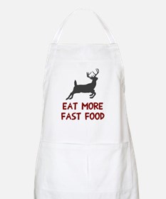 Eat more fast food Apron