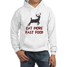 Eat more fast food Hoodie