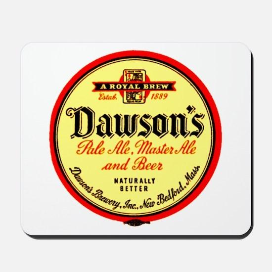 Dawson's Beer-1943 Mousepad