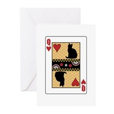 Queen Shorthair Greeting Cards (Pk of 10)