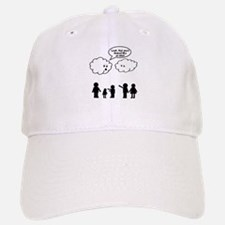 Cloud look shape idiot Baseball Baseball Cap
