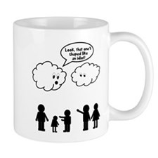 Cloud look shape idiot Mug