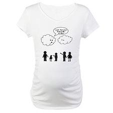 Cloud look shape idiot Shirt