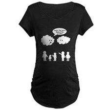 Cloud look shape idiot T-Shirt