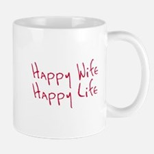 Happy wife happy life Mug