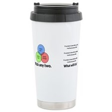Cute Any time is donut time Travel Mug
