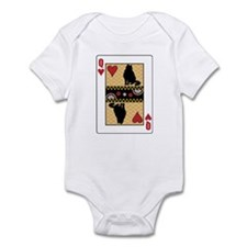 Queen Curl Infant Bodysuit