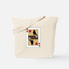 Queen Curl Tote Bag