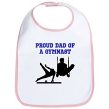 GYMNAST DAD Bib