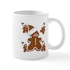 Holiday Gingerbread Man Mugs