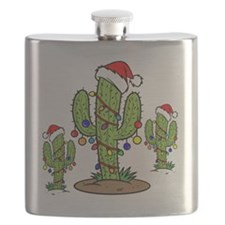 Funny Arizona Christmas  Flask