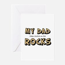 My Dad... Rocks Greeting Cards (Pk of 10)