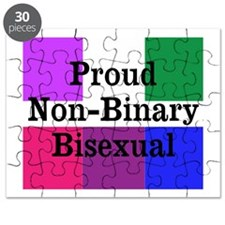 Proud Non-Binary Bisexual Puzzle