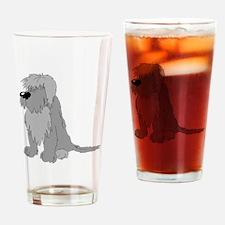 Polish Lowland Sheepdog Drinking Glass