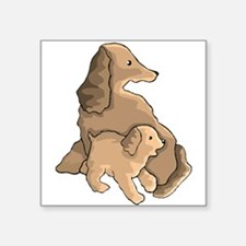 Dog And Puppy Sticker