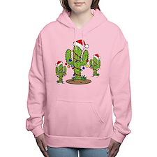 Funny Arizona Christmas Women's Hooded Sweatshirt