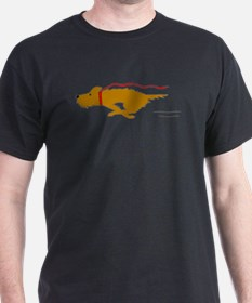 Dog Running T-Shirt