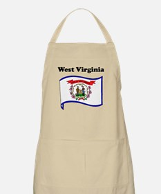 West Virginia State Flag Apron