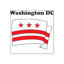 Washington DC Flag Sticker