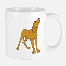 Redbone Coonhound Mugs