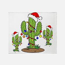 Funny Arizona Christmas Throw Blanket