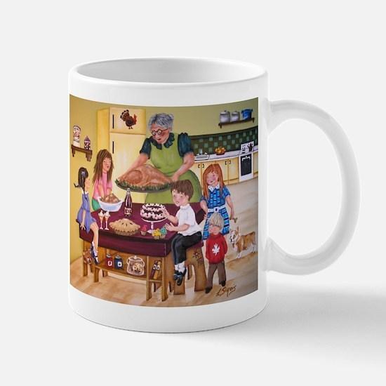 Grannys Holiday Kitchen Mugs