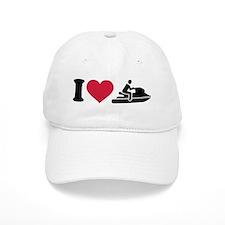 I love Jet ski racing Baseball Baseball Cap