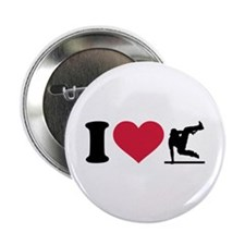 "I love Parcouring 2.25"" Button (100 pack)"