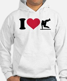 I love Parcouring Jumper Hoodie