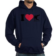 I love Parcouring Hoodie