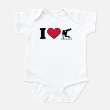 I love Parcouring Infant Bodysuit