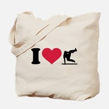 I love Parcouring Tote Bag