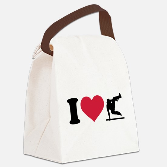 I love Parcouring Canvas Lunch Bag