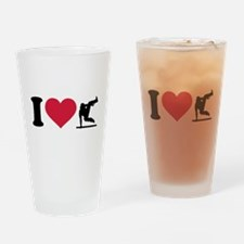 I love Parcouring Drinking Glass
