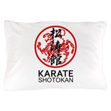 Shotokan Karate symbol and Kanji Pillow Case