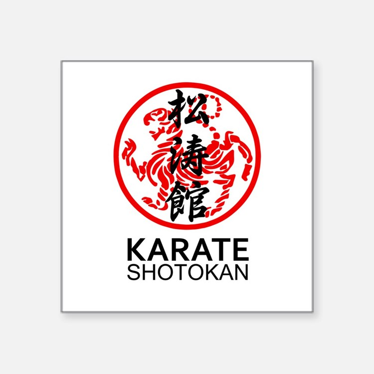 Shotokan Karate symbol and Kanji Sticker