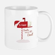Santa Email Mugs