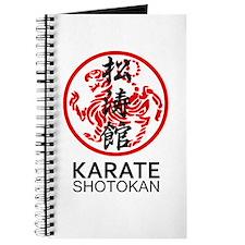 Shotokan Karate symbol and Kanji Journal