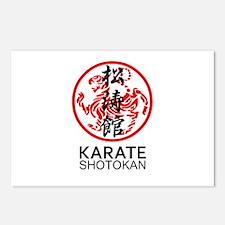 Shotokan Karate symbol an Postcards (Package of 8)