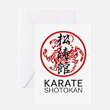 Shotokan Karate symbol and Kanji Greeting Cards