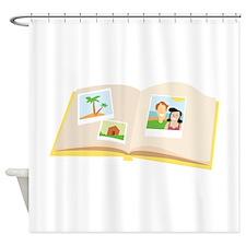 Scrapbook Shower Curtain