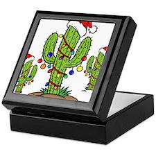 Funny Arizona Christmas Keepsake Box