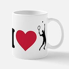 I love tennis player Mug