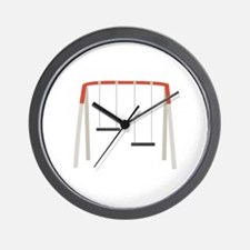 Children At Play Wall Clock
